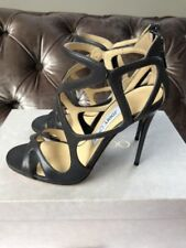 Jimmy Choo 100% Leather Strappy, Ankle Straps Heels for Women