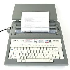 Brother GX-6000 Electronic Typewriter Correctronic Daisy Wheel & Cover & Ribbon