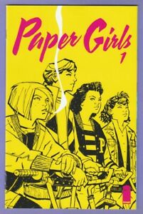 Paper Girls 1 Image Vaughan Chiang optioned Amazon Prime TV 1st appearance v