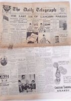 1932 The Daily Telegraph Sydney,Jack Lang,Political ads,Alex Gurney *Original*