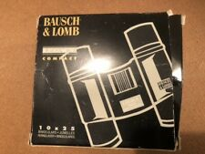 Bausch Lomb Legacy Compact sport Binoculars 10 X 25 w/ Case Birdng EC in BOX