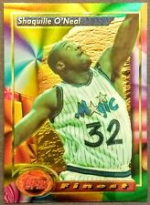 1993 Shaquille O'Neal Topps Finest 3 Awesome 2nd Year Card - Iconic Set 1st Year