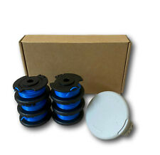 6 plus 1 Cap 0.065 String Trimmer Spool Line 30 FT Ryobi Autofeed Replacement