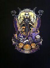 TeeFury Halloween Pumpking Negro T-shirt XL Nuevo!