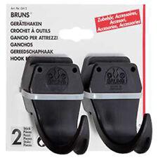 Bruns Gerätehalter 2 Stück Gerätehaken Haken für Werkzeuge für Geräteschiene