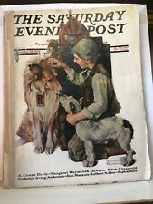New ListingNorman Rockwell/A Conan Doyle, Dog Cover/Doyle Uncollected Story,1929