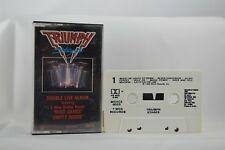 Triumph Stages Double Live Album Cassette Tape MCAC2-8020