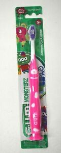 Gum Monsterz Kids 5+ Sunstar 902 Soft Toothbrush Junior Suction Cup Base Pick