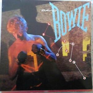 DAVID BOWIE LP LET'S DANCE 1983 EUROPE VG++/EX OIS