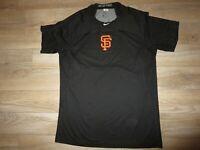 San Francisco Giants #52 Ferguson Majestic Game Used Worn Training Shirt LG L