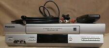 New listing Panasonic Pv-4525S Vcr Player Recorder With Remote Av & Coax Cables Tested Works