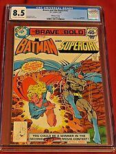BRAVE AND THE BOLD 147 CGC 8.5 Batman Supergirl Aparo Whitman 1979