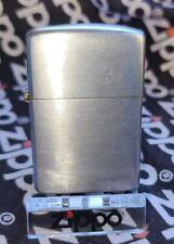 Vintage Zippo Lighter Pat 2032695 3 Barrel Nickle Silver Rare