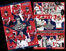 Washington Capitals 2018 Stanley Cup Champions POSTER COMBO SET (2)