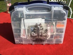 X-wing miniatures lot with Double carrying case Detailed Estate Lot