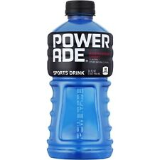 POWERADE Blue Raspberry Cherry Sports Drink 28 oz Bottle ION4 (Pack of 10)