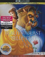 DISNEY BEAUTY AND THE BEAST (1991) 4K ULTRA HD & BLURAY & DIGITAL SET with Belle