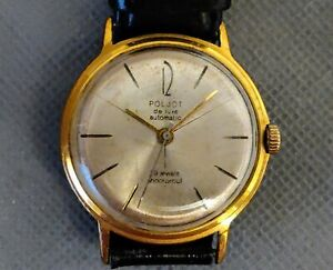 Poljot de Luxe 2415 Soviet automatic dress watch