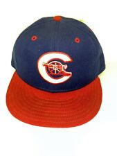 "VTG Calgary Cannons New Era MILB Fitted Hat Size 7 1/8"" Baseball 100% wool RARE"