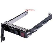 "2.5"" SAS SATA Drive Tray Caddy For HP DL360e DL380e ML350p ML370 Gen9 Gen8 G8"