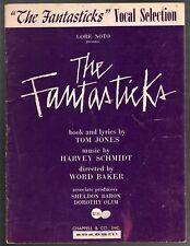 The Fantasticks Vocal Selections Sheet Music