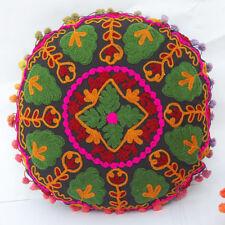 Vintage Cushion Cover Handmade Pillowcases Embroidery Cushion cover 16 x16
