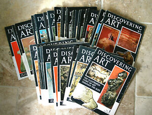 Vintage Discovering Art Weekly Magazines 1-48 consecutive issues 4 Volumes