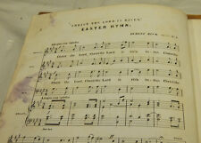 1869 Sheet Music//CHRIST THE LORD IS RISEN TODAY, an EASTER ANTHEM