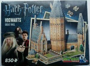 Hogwarts Great Hall 3D Puzzle Harry Potter Wrebbit 850 pc