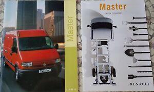 Prospekt / brochure DOCUMENTATION RENAULT MASTER + CAHIER TECHNIQUE -12/1998- BE