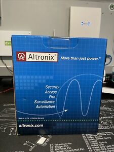 Altronix AL100UL Linear 12VDC Power Supply/Battery Charger, **NEW IN BOX**