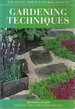 RHS Gardening Techniques Book, , Like New, Paperback