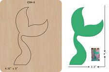 new Mermaid Tail Wooden Die, Cutting Dies , Scrapbooking , C-264-8