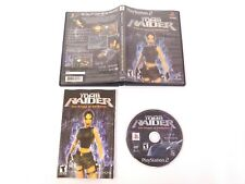 Lara Croft Tomb Raider Angel of Darkness PlayStation PS2 Black Label Complete