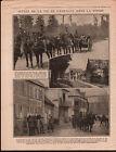 WWI Poilus Bataille de Verdun Tranchées/Obusiers Canons Somme 1916 ILLUSTRATION