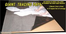 WOODWORKING transfer tracing  paper PATTERNS covers full sheet of plywood