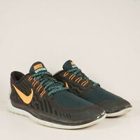 Nike Free 5.0 2015 Q2 (724382-004) Running Shoes Teal/Black Mens Size 10.5