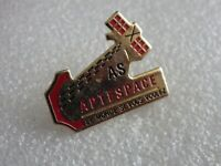 Pin's vintage collector pins collection publicitaire AS APTESPACE LOT PG113