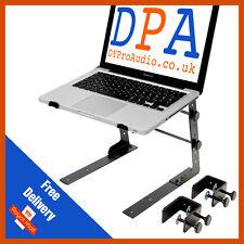 Pulse hauteur & largeur ajustable dj ordinateur portable support ordinateur dj lap top