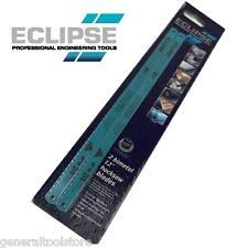 Ecplipse 71-424r Plus 30 24tpi Hacksaw Blades Pack 2 Flexible Bimetal Hss Blades