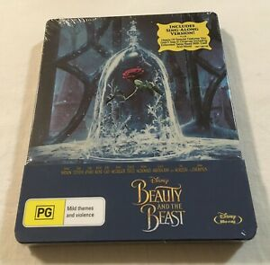Beauty and the Beast (2017) - Limited Edition Steelbook Blu-Ray | New