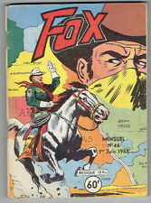 FOX n°46 – Editions LUG – Juin 1958 – BE