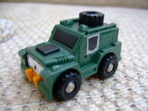 Brawn Mini 1984 Vintage Hasbro G I Transformers Action Figure