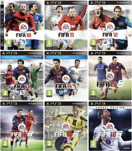 FIFA 13 12 11 10 PS3 Video Games For Sony PlayStation 3 (2009 - 2012) EA Sports