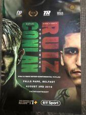 Conlan V Ruiz Boxing Programme