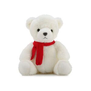 """17"""" White Plush Doll Teddy Bear Stuffed Animal Toy Birthday Valentines Gift US"""