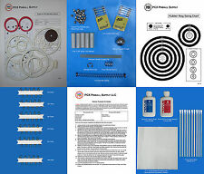 1975 Gottlieb Spirit of 76 Pinball Deluxe Tune-up Kit - Includes Rubber Ring Kit
