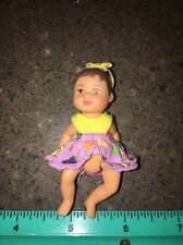 Rare Barbie Happy Family Baby Krissy Hispanic Doll Infant w Original Outfit Bow