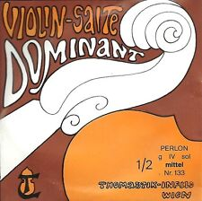 Corde à l'unité Violon VIOLIN-SALTE DOMINANT 133 1/2 - Corde Sol