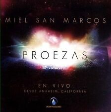 Proezas En Vivo by Miel San Marcos  CD